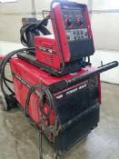 Lincoln Power Wave 455 Advanced Process Welder, s/n U1041210790, With Lincoln 10 Wire Feed, 208/