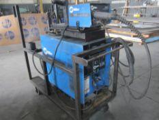 Miller CP-300 Mig Welder, s/n KB030296, With Miller S21E Wire Feeder