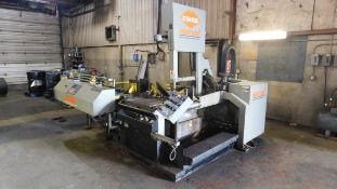 Marvel Model 2125A-PC60 Automatic Vertical Tilt Frame Vertical Band Saw, s/n E2125-20323PC, New