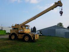 Grove Model RT60S Rough Terrain Mobile Crane, s/n 23503, 18 Ton Capacity, Maximum Elevating Angle 75