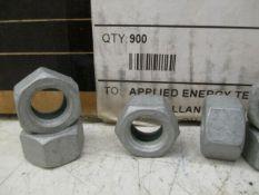 Carrdan Corporation 1/2-13 Finish Hex Nut Grade 8 Magni W/Patch *Box of 900*