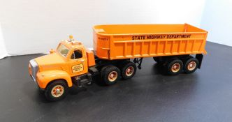 First Gear Truck and Trailer Toy