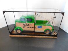 """1938 Ford """"COE"""" Wrecker Encased Model"""