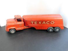 Texaco Truck and Tanker Metal Toy