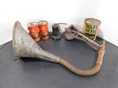 Oil Cans, Funnel