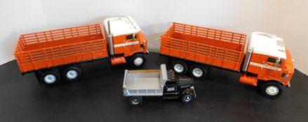 Various Die Cast Trucks, etc.