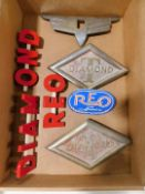 Diamond T and Diamond Reo Emblems