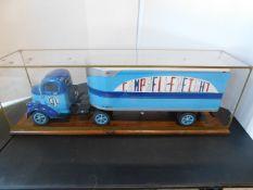 """1946 Chevrolet """"COE"""" Truck and Trailer Encased Model"""