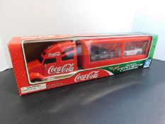 Coco-Cola 2005 Corvette Carrier Toy
