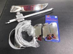 Headlight Visors, Antenna, Step Grip Paper