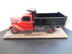 1946 Diamond T Dump Truck Model