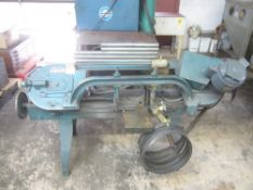 Wells 8M Horizontal Band Saw, s/n 15203, with Extra Blades