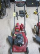 """Murray 20"""" Lawn Mower with Gas Cans"""