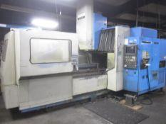 Mazak Model AJV-35/80 CNC Vertical Machining Center, s/n 74343, New 19988, Mazatrol M-32 CNC