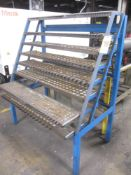 Collet Rack with Sliding Shelves