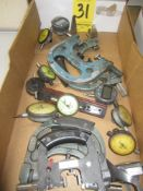 Assorted Dial Snap Gages