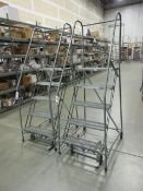 Uline Rolling Warehouse Ladders