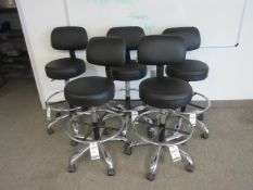 Black Lab Chairs-Swivel Base