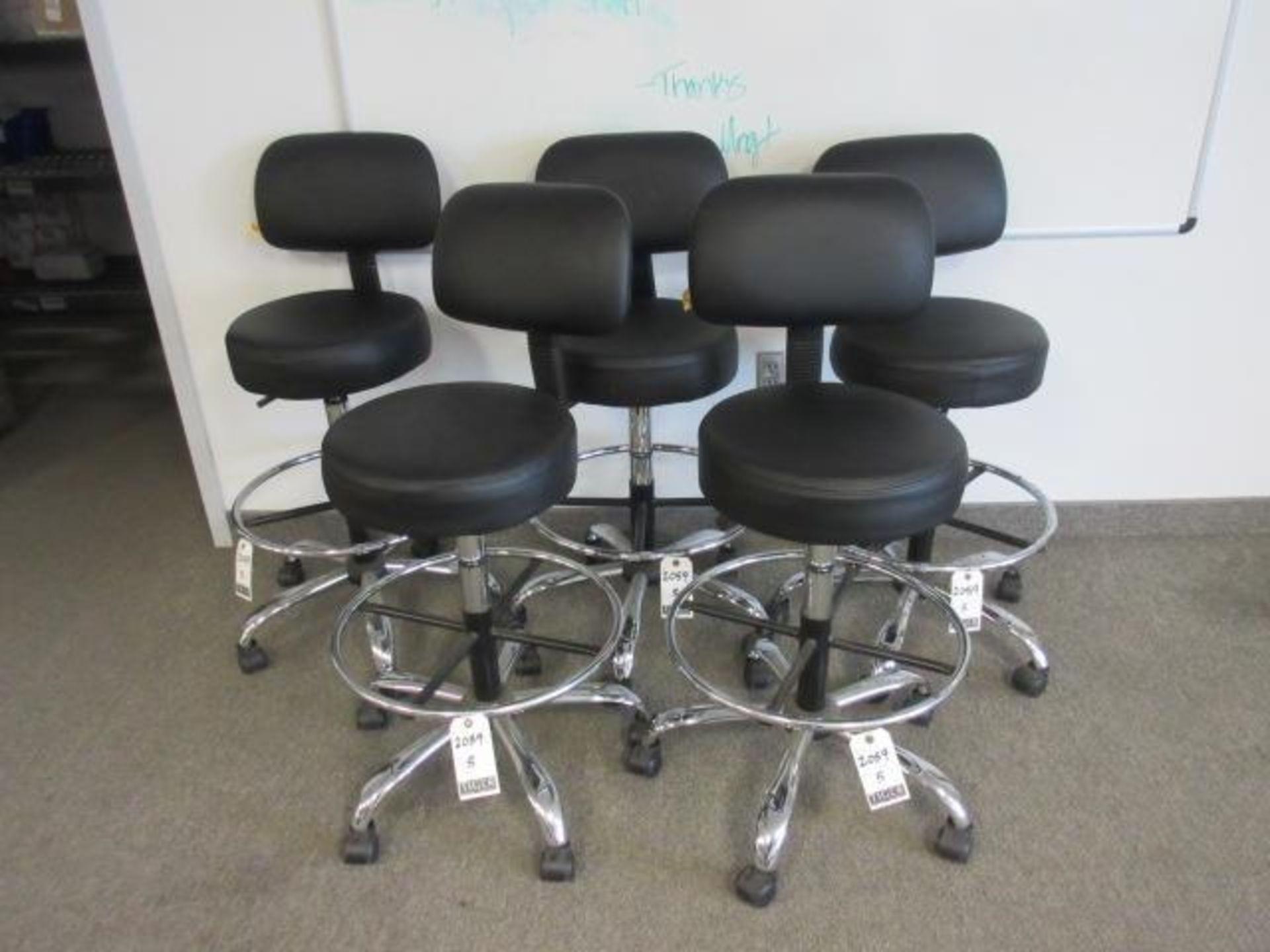 Black Lab Chairs-Swivel Base