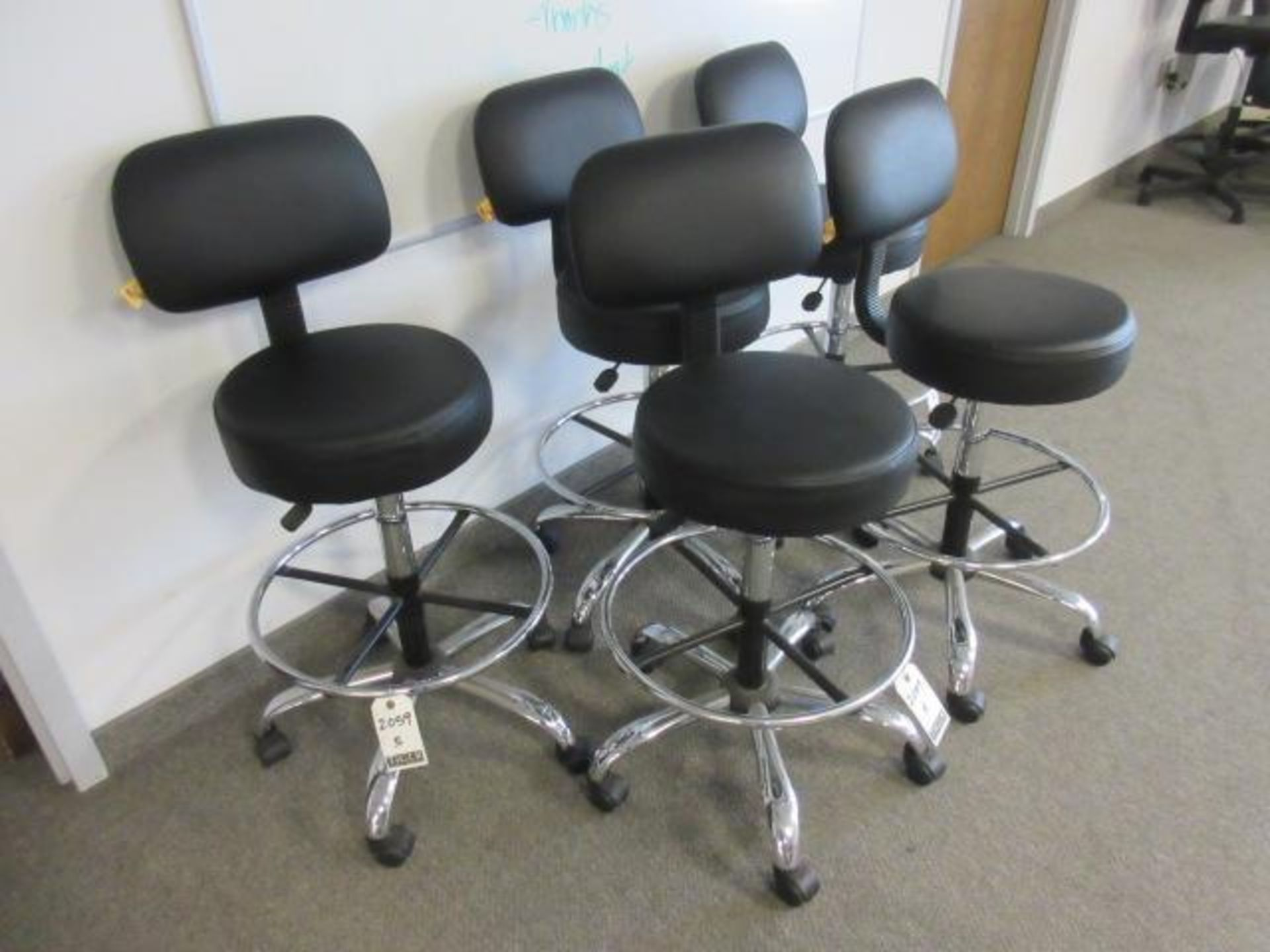 Black Lab Chairs-Swivel Base - Image 3 of 4