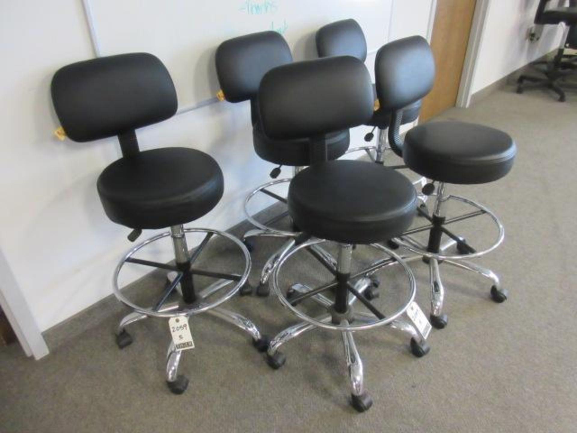 Black Lab Chairs-Swivel Base - Image 3 of 4