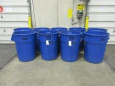 Uline 55 Gallon Waste Containers
