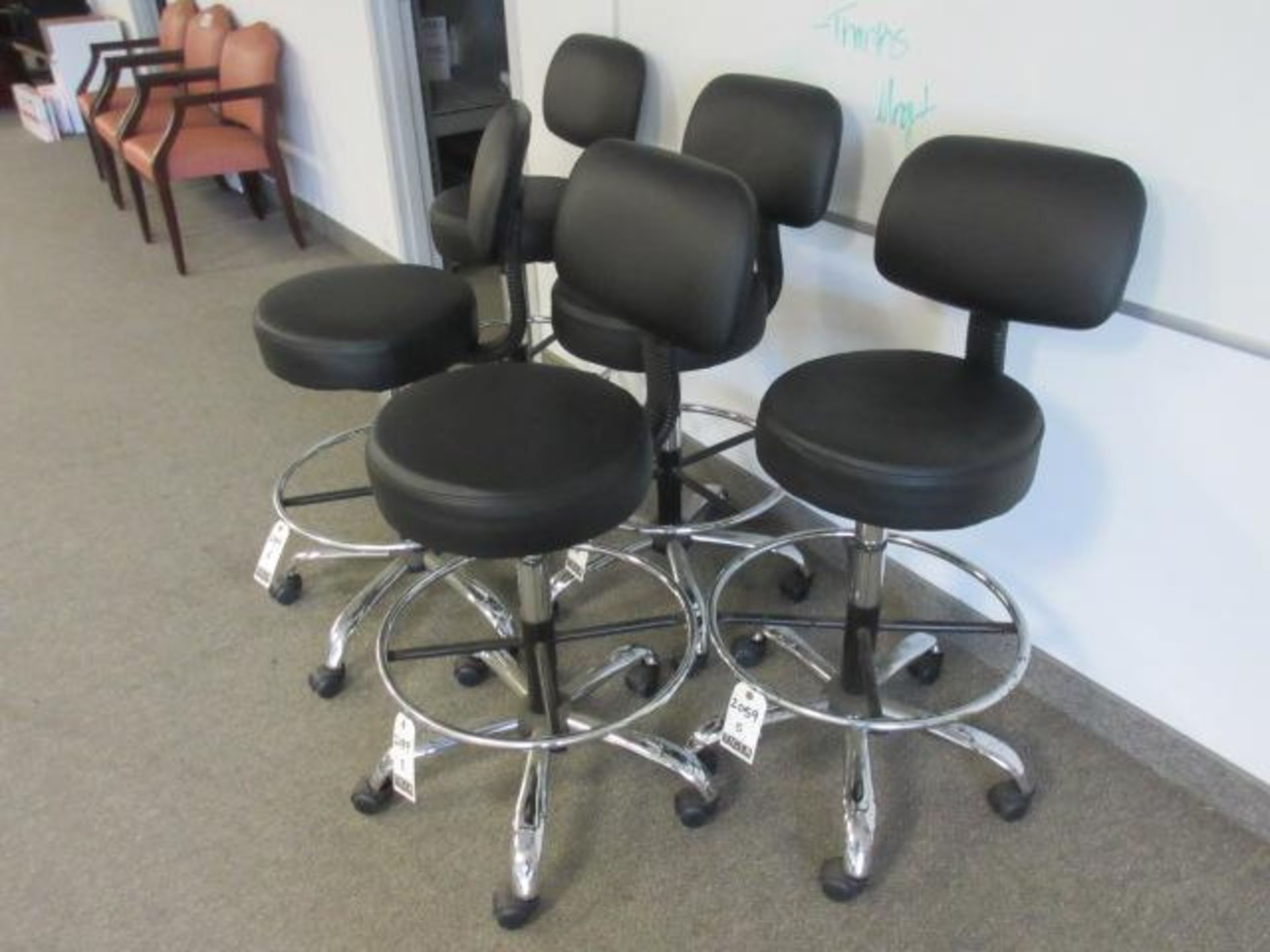 Black Lab Chairs-Swivel Base - Image 2 of 4