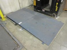 Floor Scale, w/ Ramp