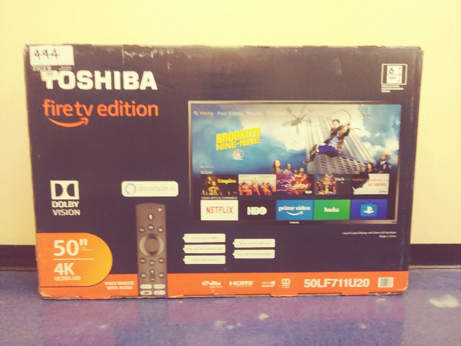 Toshiba 50in 4k Ultra HD TV - Image 3 of 3