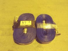 50ft. 2in Blue PVC Discharge Hoses