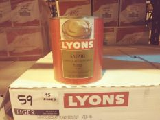 Lyons Chocolate Flavored Syrups