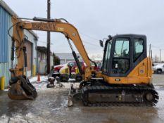 2014 Case Excavator CX80C