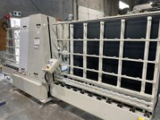 2008 POLYGLASS GLASS WASHER, MODEL GEMY8; W/ CN23 CONTROL; 600V