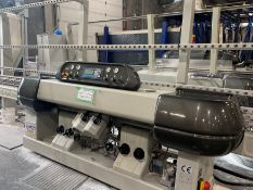 2008 Z. BAVELLONI GEMY 8 CNC GLASS POLISHING MACHINE, 600V, S/N 113334