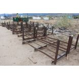(22) 8' X 3' METAL STICK RACKS
