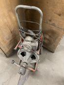 RIDGID K-400-T2 DRUM MACHINE DRAIN CLEANER & CABLE