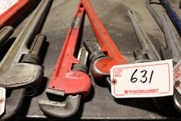 """(2) 24"""" PIPE CLAMPS"""