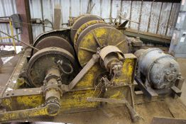 25HP DOUBLE DRUM WINCH, 220/440V