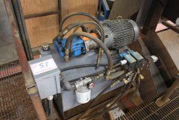 15HP HYDRAULIC POWER UNIT, 230/460V