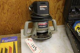 PORTER CABLE 75192 ROUTER, W/ 75361 BASE