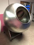 "47"" diameter Stainless Steel Coating Pan with Baffles (NEW)"