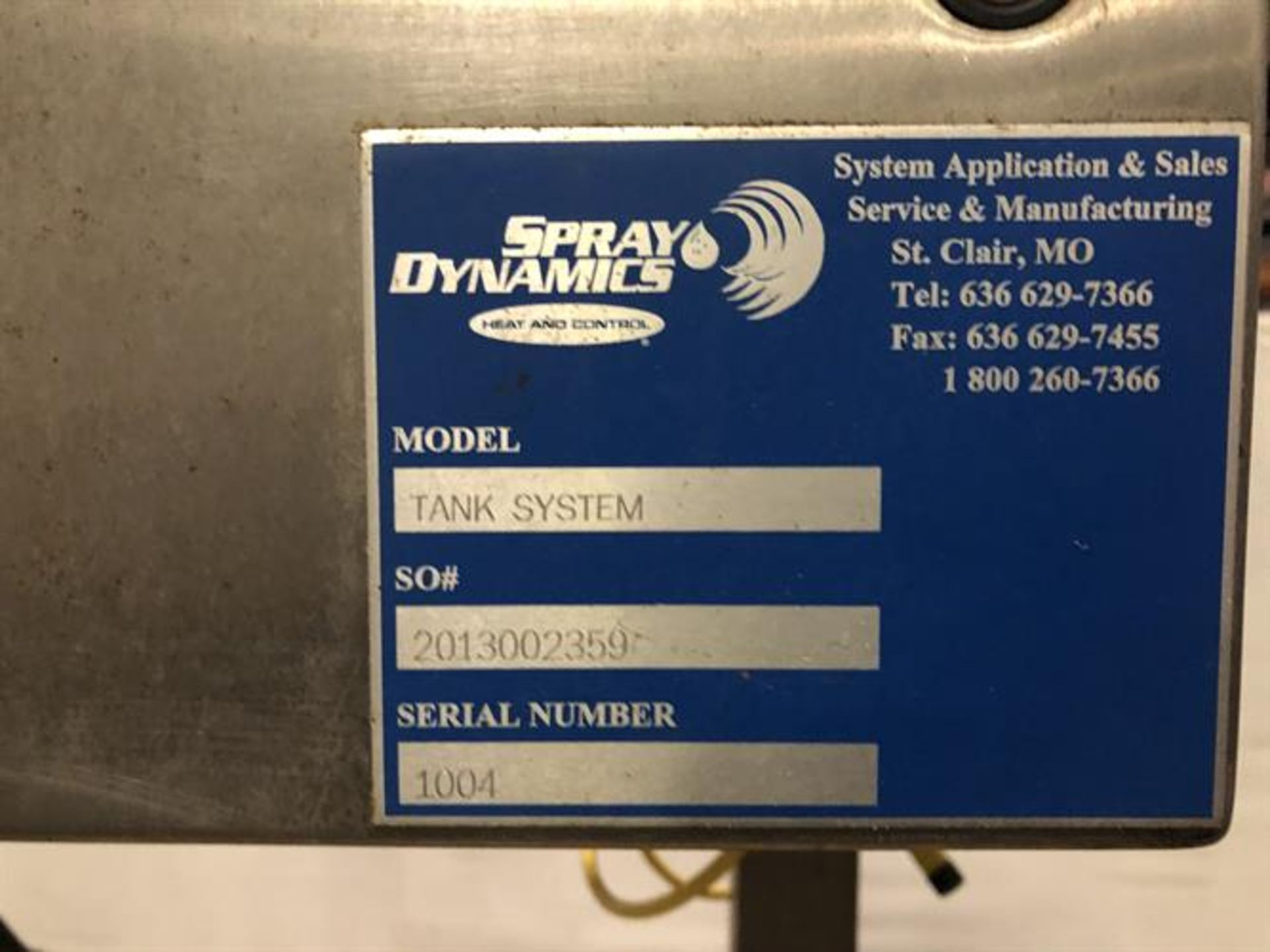 (2) Spray Dynamics 100 Gallon Stainless Steel Jacketed Mixing Tanks with pump - Image 25 of 32