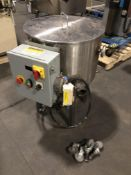 Tinsley 100-lb Stainless Steel jacketed and agitated chocolate melter with electric heater