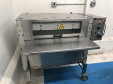 Food Tools model CP-1F Bar Pressing Machine, air operated - used to compress bar material, krispy