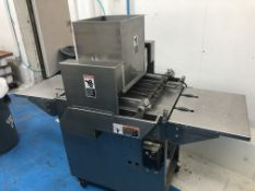 """Magna Mixer 17"""" wide Wire-Cut Cookie Depositor. No dies included. Model 176V-S A3-G, serial#41383,"""