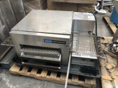 Lincoln Impingment Oven 1100 Series. Model 1132-000-U-K1971, serial#0903210000392, 3 phase, 60