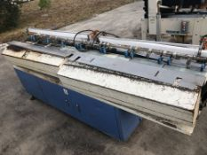 """Belt feeder with 4"""" wide x 96"""" long with (7) separate belts. Loading is free. Skidding or crating"""