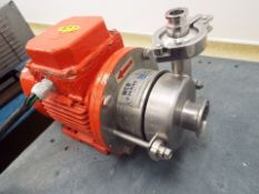 Stainless steel WCBC C100MD56TC centrifugal pump