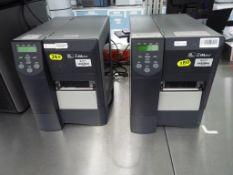 Zebra Z4M thermal printer