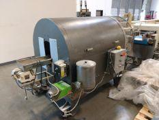 Ter Braak Oiling Drum - Model 7100 - Serial number 7100 F029 - Oil dispenser. Stock#82896. Located